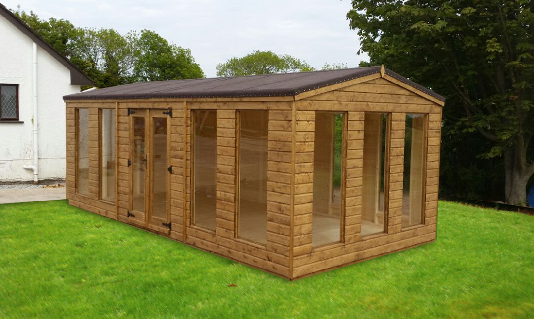 summerhouse northern ireland - Garden Sheds Ni